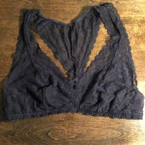 Victoria Secret Black Bralette Size M